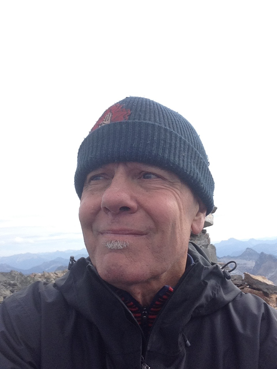 Randy on Loki summit Sep. 2015